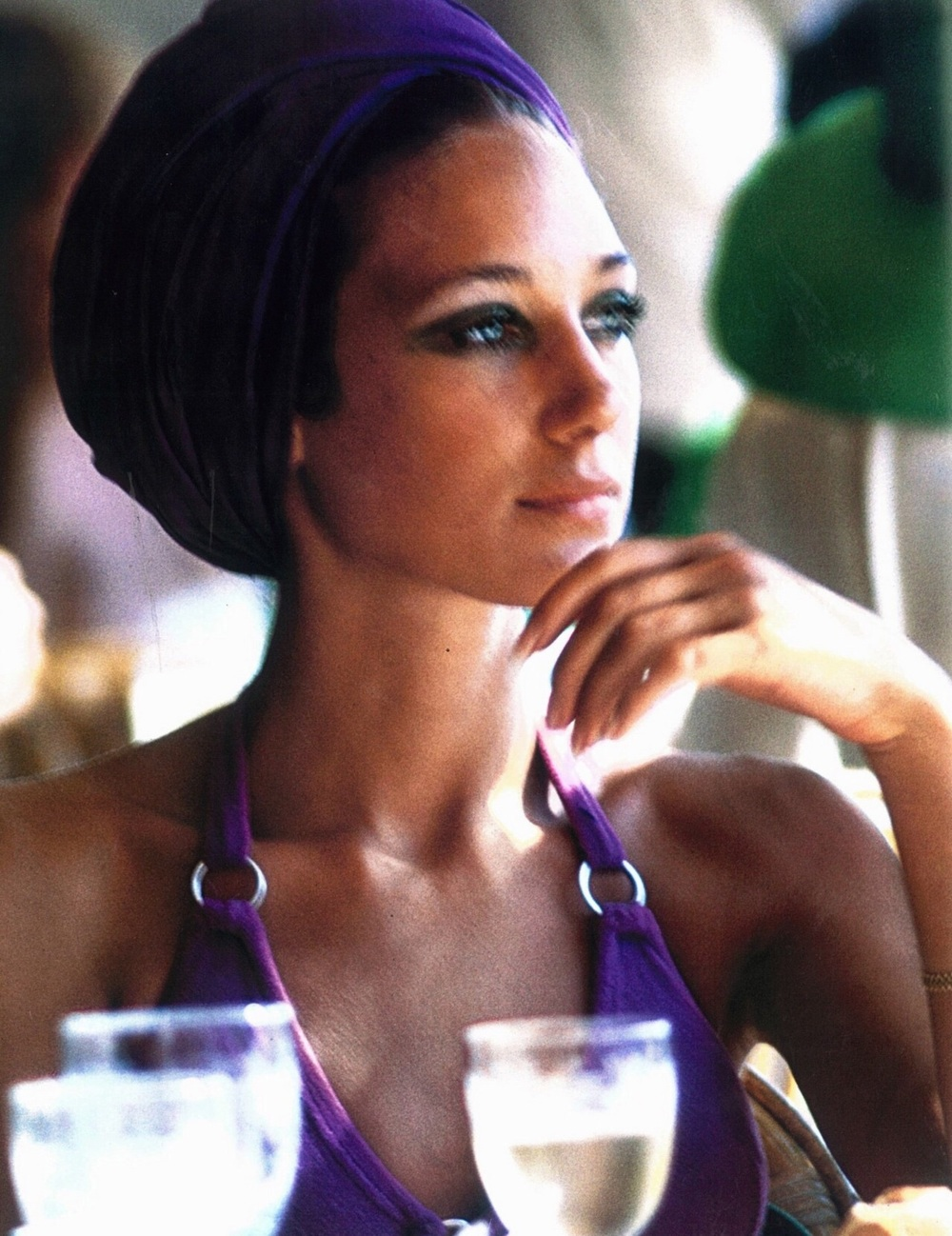 Marisa by Slim Aarons _ Capri, September 1968.