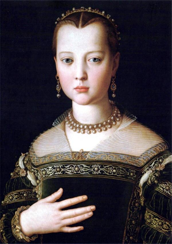 Bronzino, Portrait of Maria de Medici, 1551