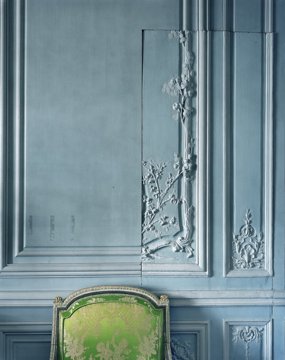 Detail of the apartment of Madame Victoire at Versailles. Robert Polidori, 2008.
