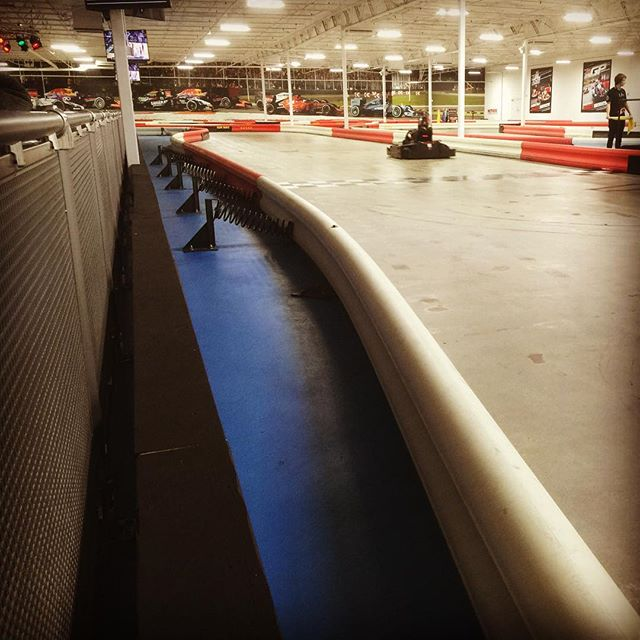 GoKarts at K1 indoor karts with the Rentler team. #rentler #gokart
