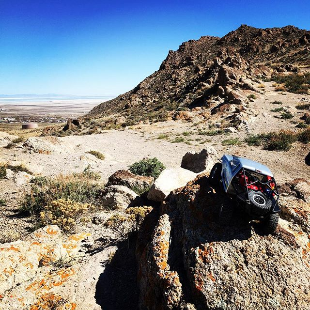 Wendover is a great place for RC Rock crawling. #rc #rccrawler