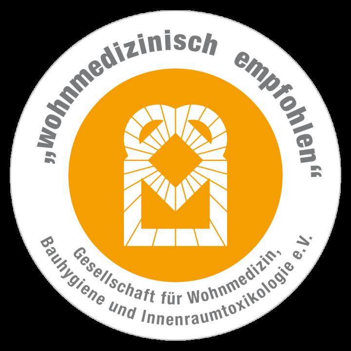 Zertifikat 'Wohnmedizinisch Empfohlen'