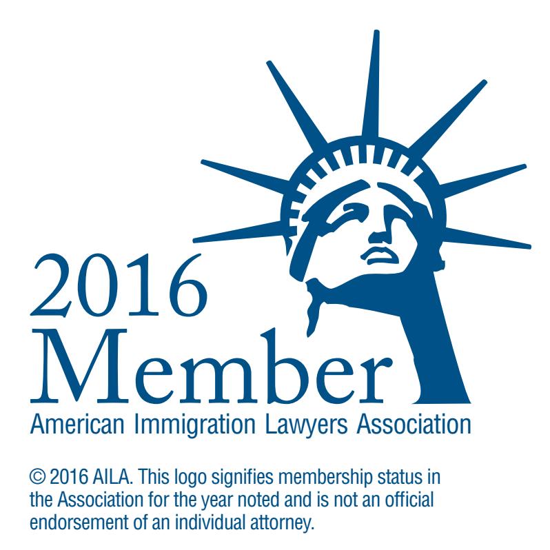 Bakke Law - Law Firm of Timothy R. Bakken, P.C. is a proud American Immigration Lawyers Association member.