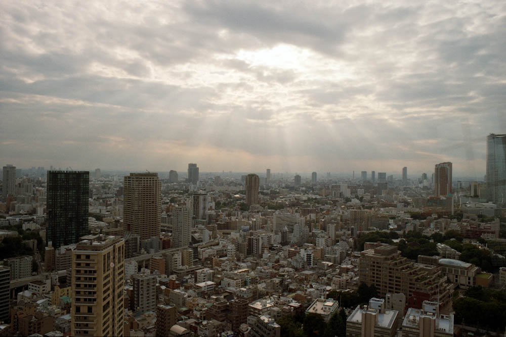 Roppongi (Tokyo Tower), Tokyo - And the clouds parted :)