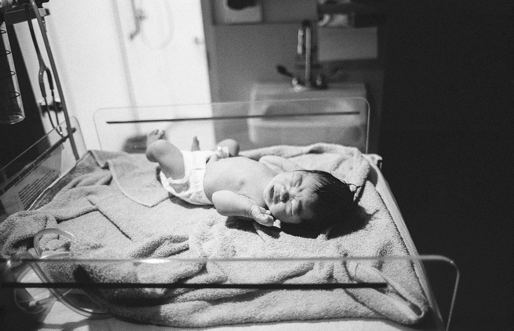 Seeing my wife give birth was an experience unto itself… but hearing my daughter's first cries changed everything about who I think I am.