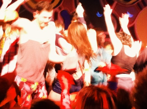 You know it's a good night when you get on stage and twerk with Katey Red.