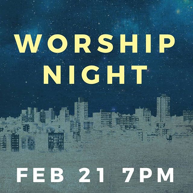 TONIGHT! Going deeper with Jesus through music. Doors open at 6:30pm, singing begins at 7pm