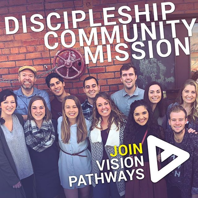 Interested in joining Vision Pathways? Or maybe you have a friend who might be! We're now accepting applications for Fall 2019. If you are interested in applying, click the link in our bio or share with a friend! —————————— • Vision Pathways is a 2-year discipleship program equipping recent college graduates to follow Jesus in all of life. Not all Christians are called to a full-time ministry c a r e e r . BUT every Christian is called to a full-time ministry LIFE.  #vp #applytoday #sandiego #community
