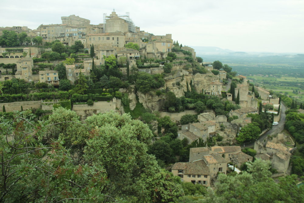The staggering beauty of Gordes.