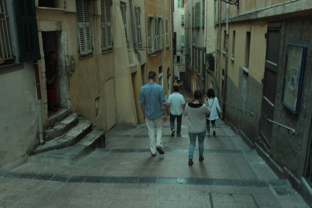 The ruelles of Vieux Nice.