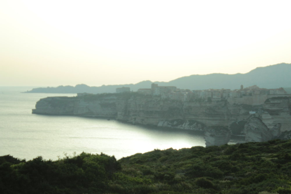 Bonifacio's dangles from the island's southern tip.