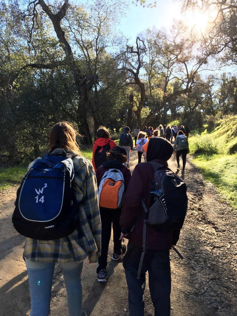Camping provides students the chance to plan, pack, budget, buy, cook, clean and learn how to coexist peaceably.