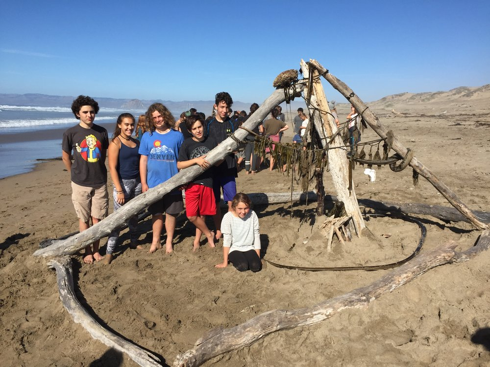 Throughout the year trips include sun, sand, and snow providing a large range of learning activities.
