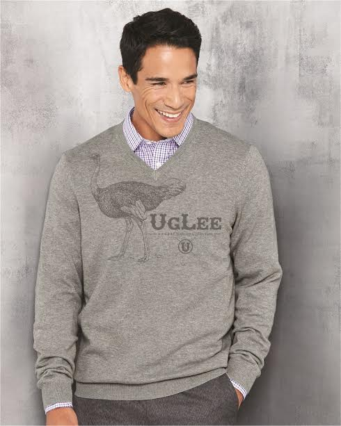 Big UgLee V-Neck Grey-Grey.jpg