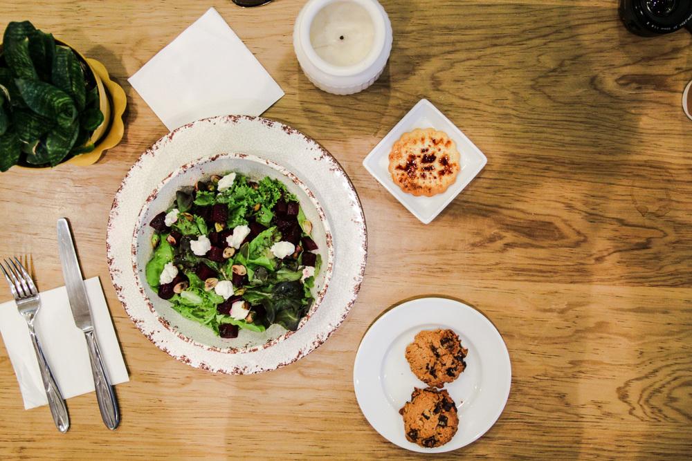 Beet Salad & Dessert