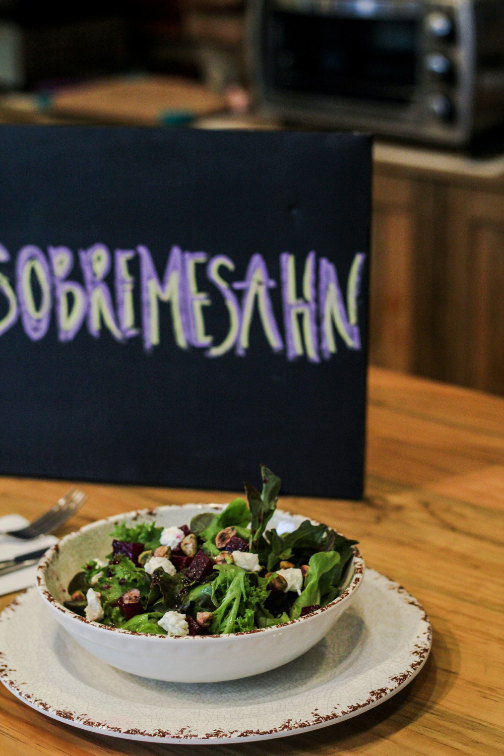 Use #SOBREMESAHN every time you stop by !