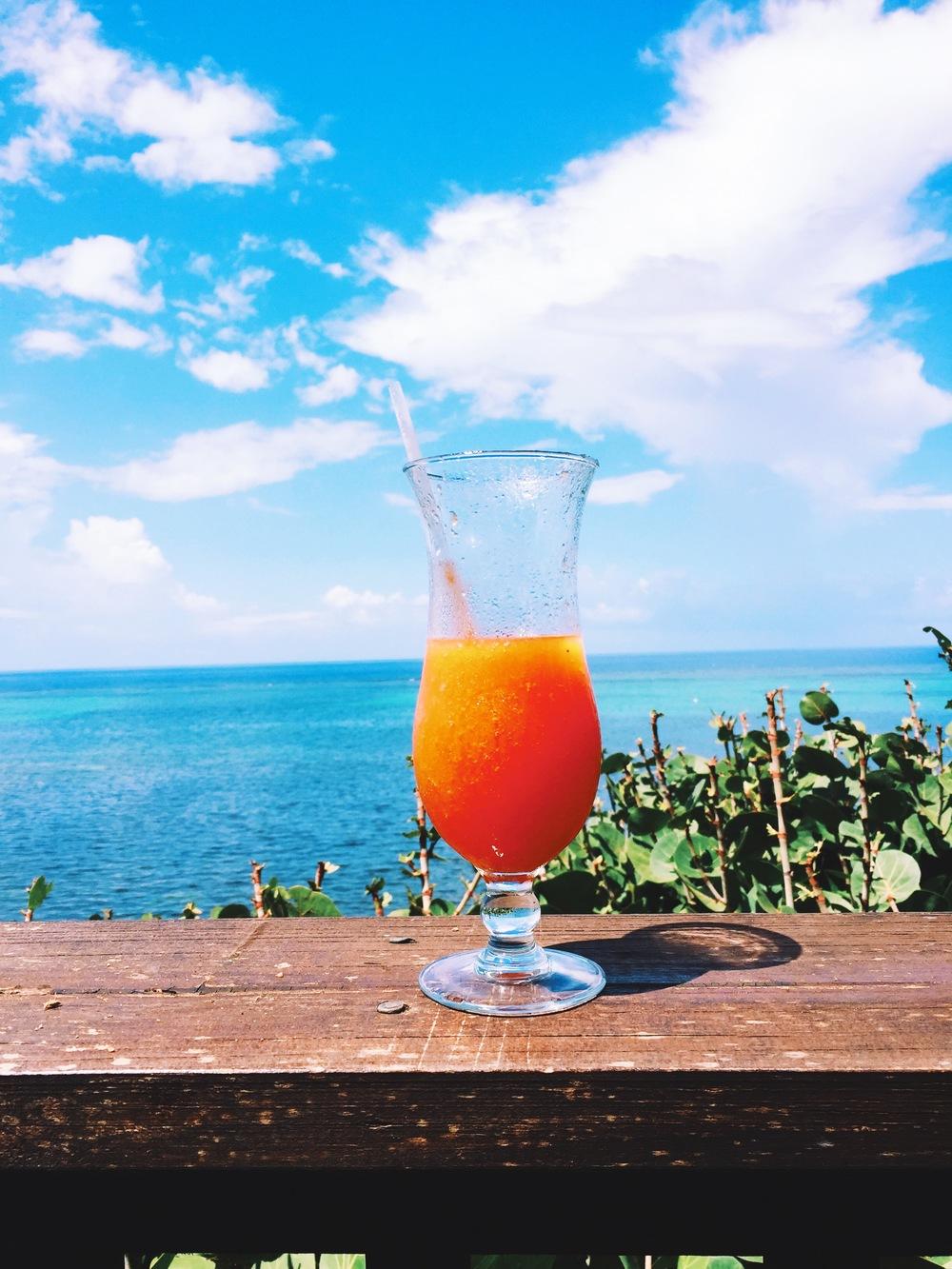 Fresh Morning Papaya Juice