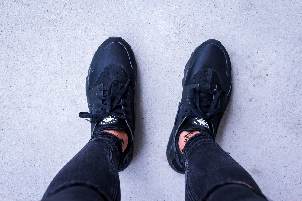 Nike Huarache - Triple Black