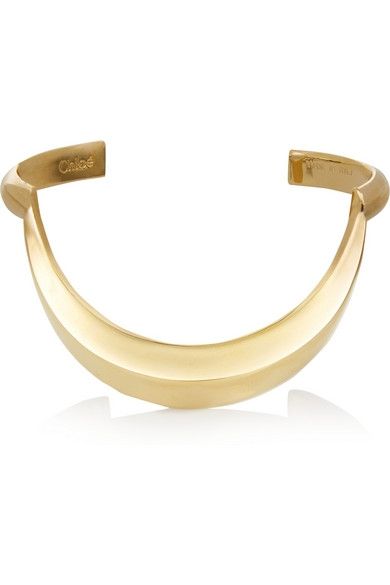 Isalis Gold-tone cuff