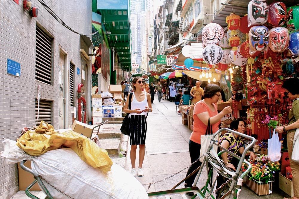 Hong Kong Street Market
