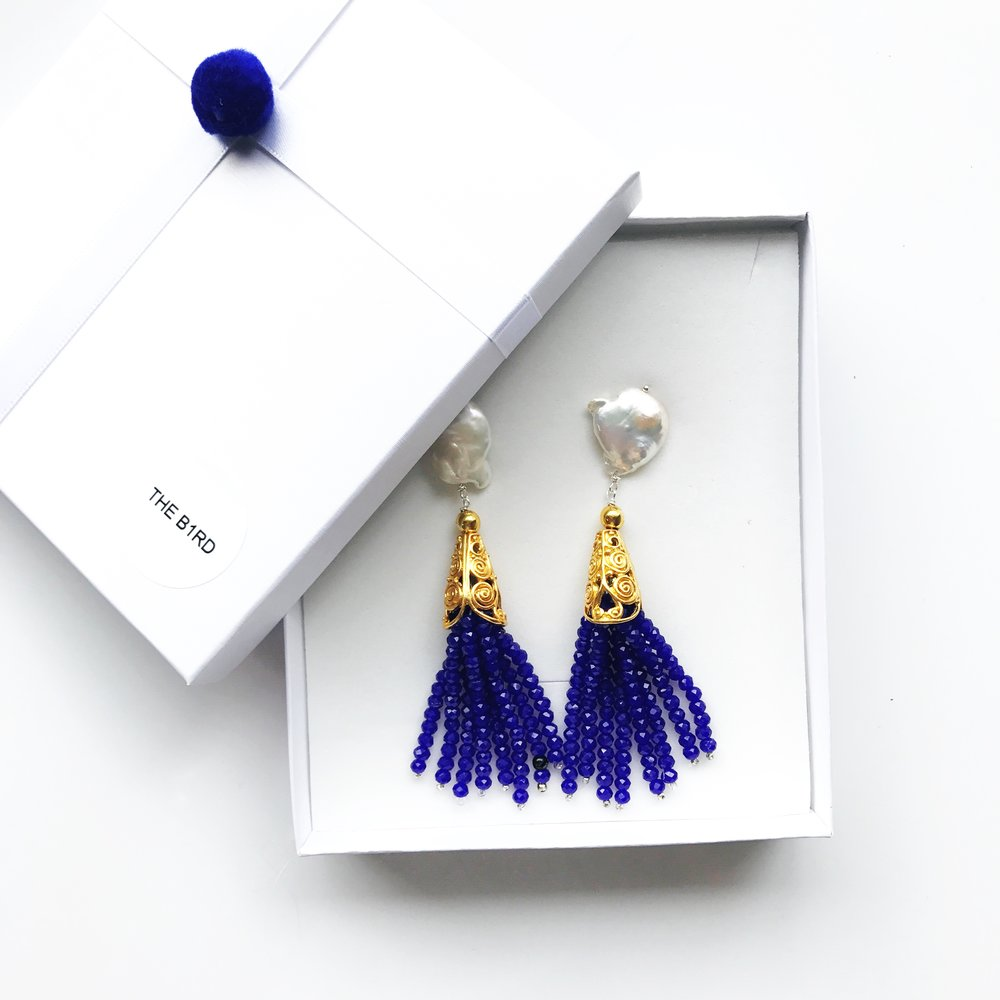 Reserve a Pair - If the earrings that you liked are currently out of stock, you can feel out this form to be notified when they are back!