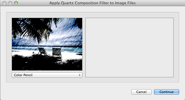 Step 2: Apply a Quartz Composition Filter