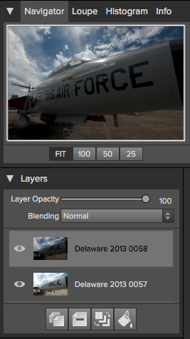 Each image as a layer. Exactly what I want.