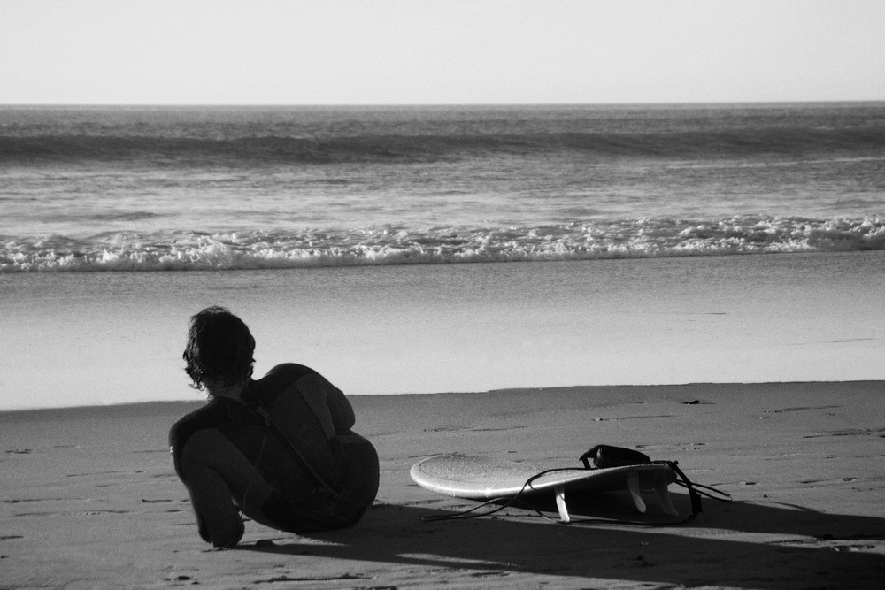 The Surfer  |  Black & White Gallery