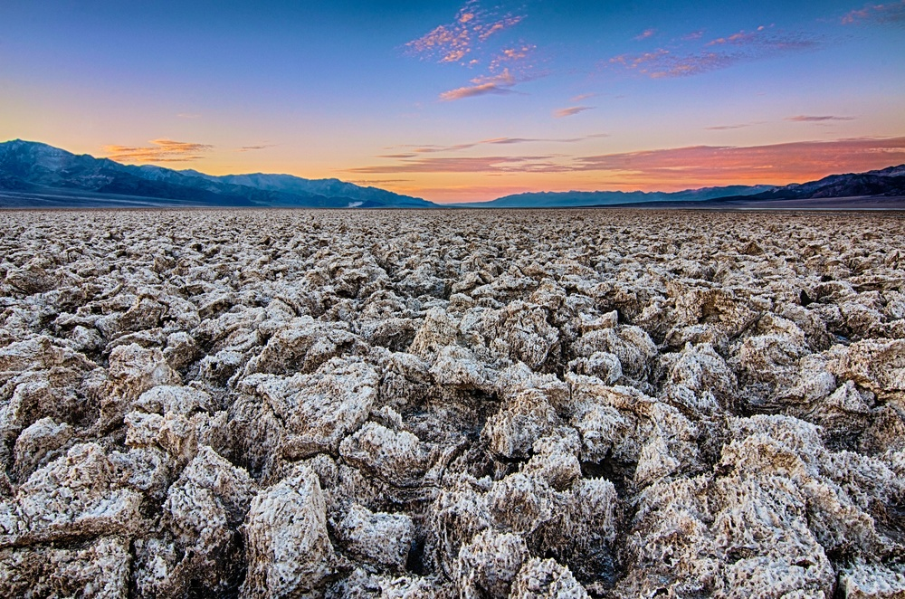 The Devil's Golf Course  /  Death Valley