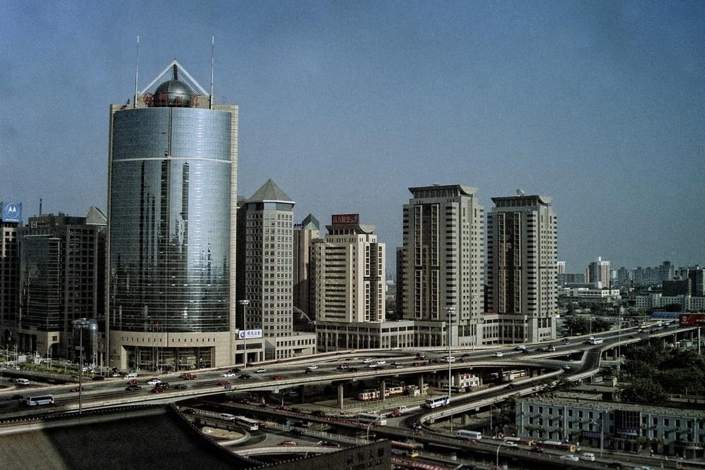 Beijing Skyline circa 2002