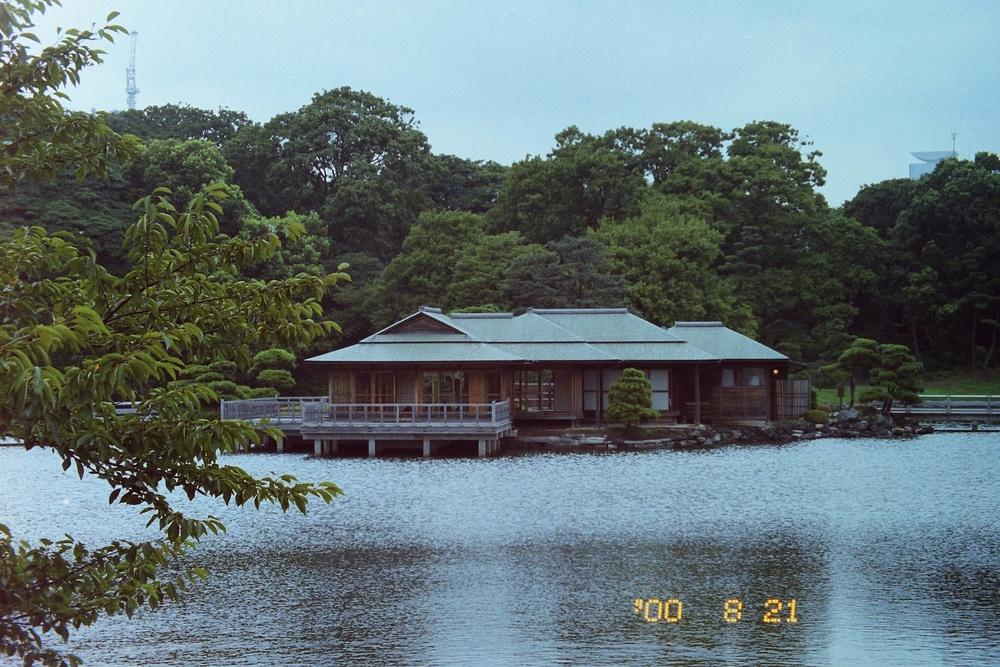 Throwaway shot from the Hama Rikyu Gardens, Japan