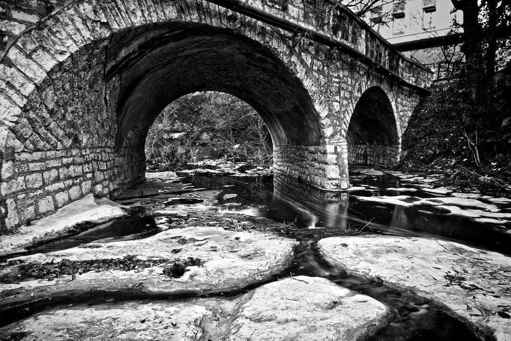 Stone Bridge, University of Texas, Austin