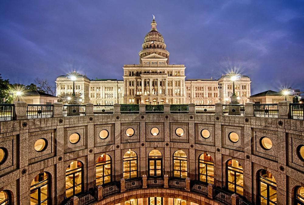 The Texas State Capital, Austin, Texas