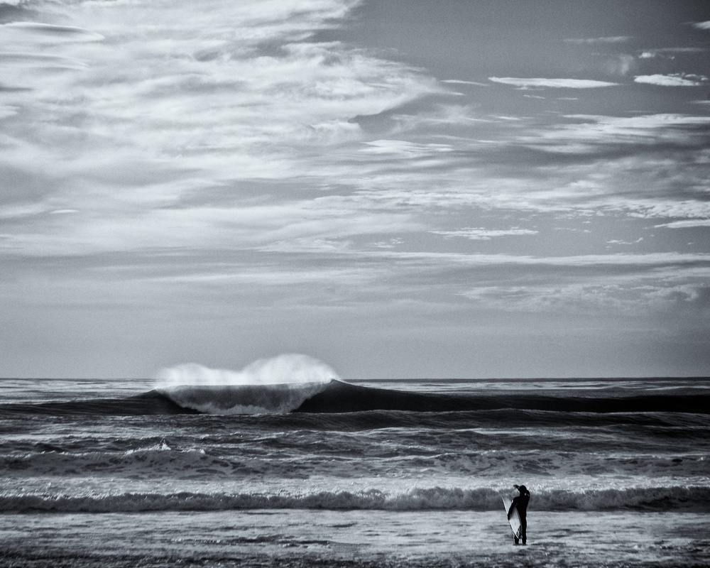 Surfer, La Jolla, California | Black & White Gallery