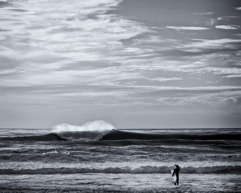 Surfer, La Jolla, California  |  Black & White Gallery
