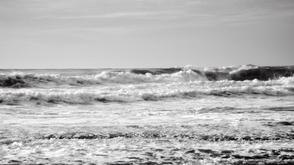Choppy Ocean, La Jolla, San Diego
