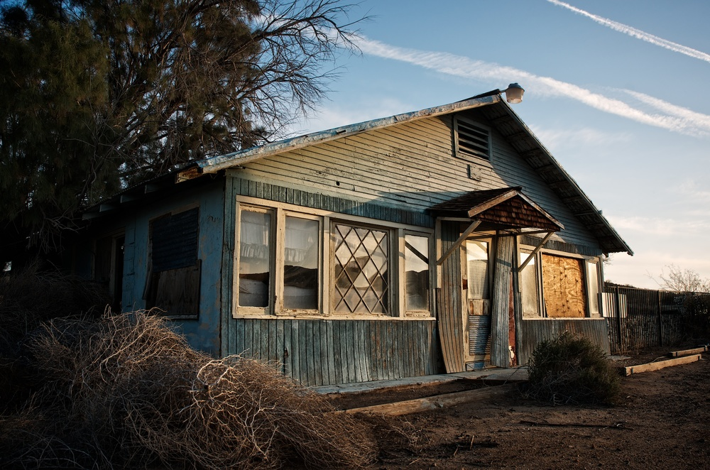 Empty Residence, Jacumba, California