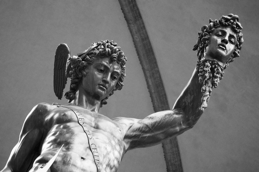 Perseus Kills Medusa
