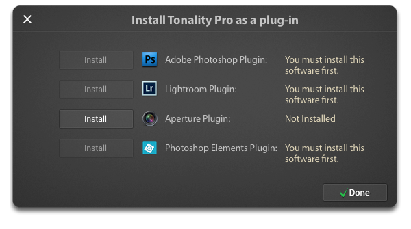Tonality Pro Plug-in Installer