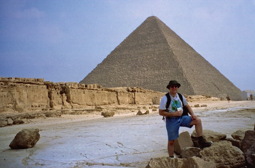 At the Great Pyramid