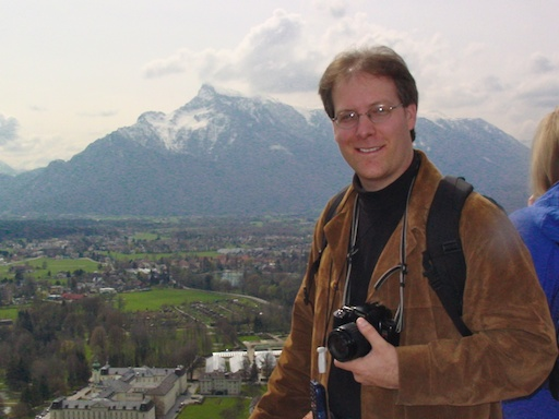 The budding photographer in Austria
