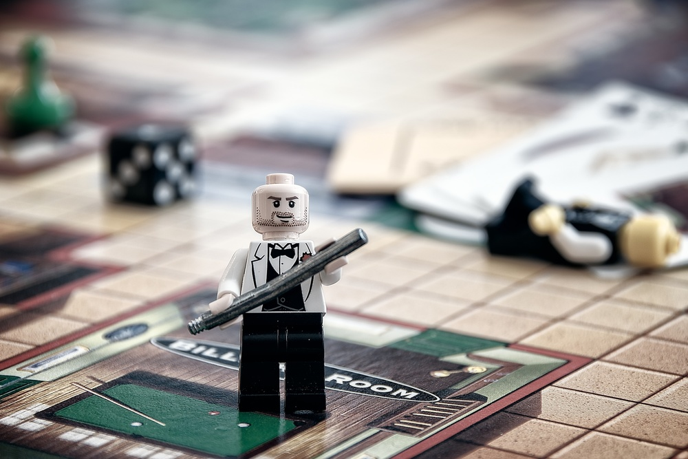 The Lego Murder Mystery