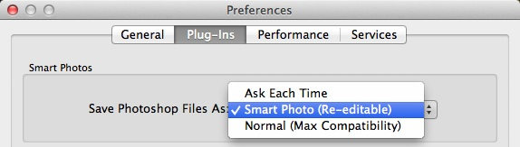 Enable Smart Photos by default for DAMs like Aperture and Lightroom