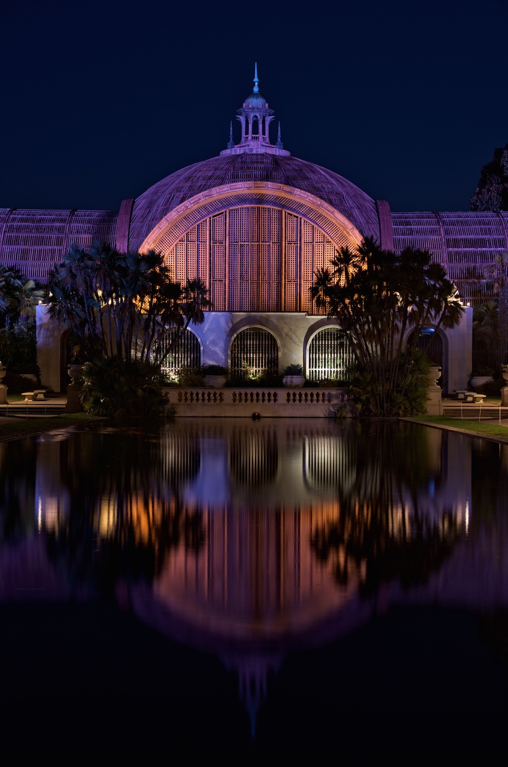 Botanical Building Reflections
