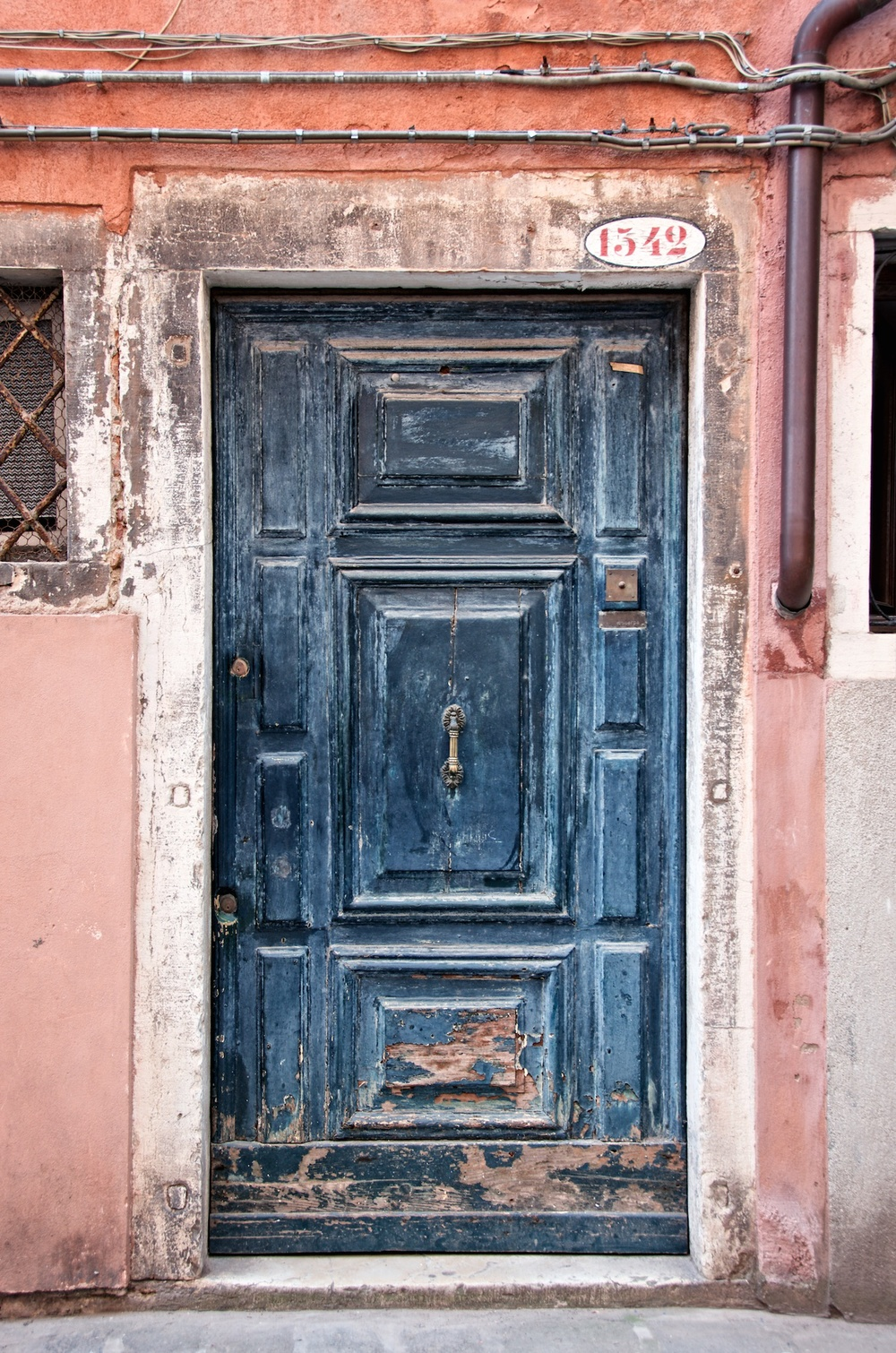 Old Door In Venice