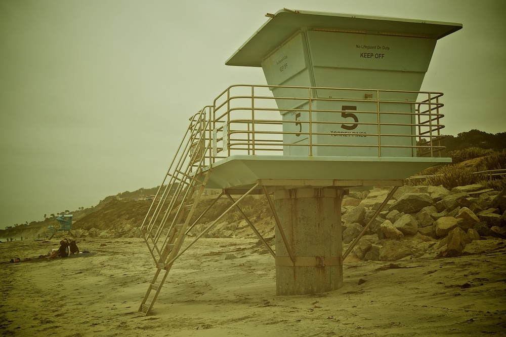 Lifeguard Tower, Torrey Pines Beach