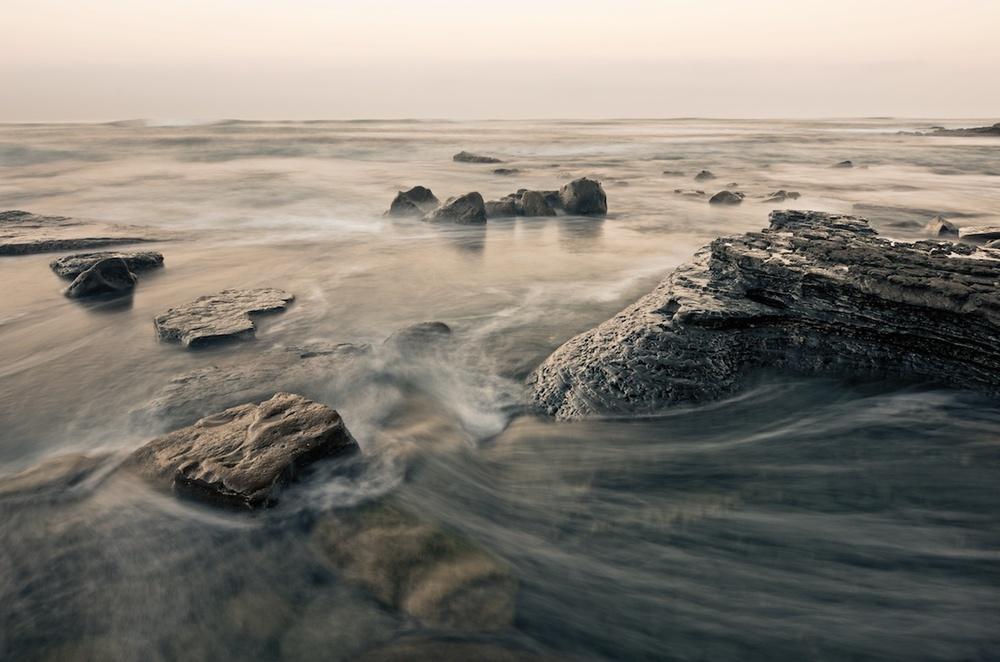Swirls At Sunset Cliffs, San Diego