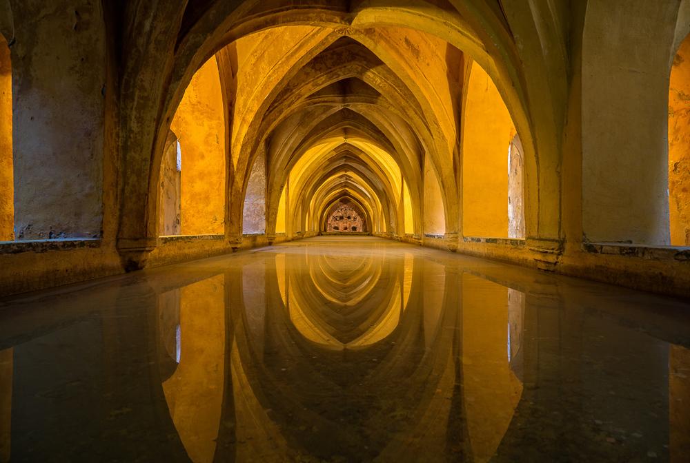 Baths of Lady María de Padilla, Seville, Spain
