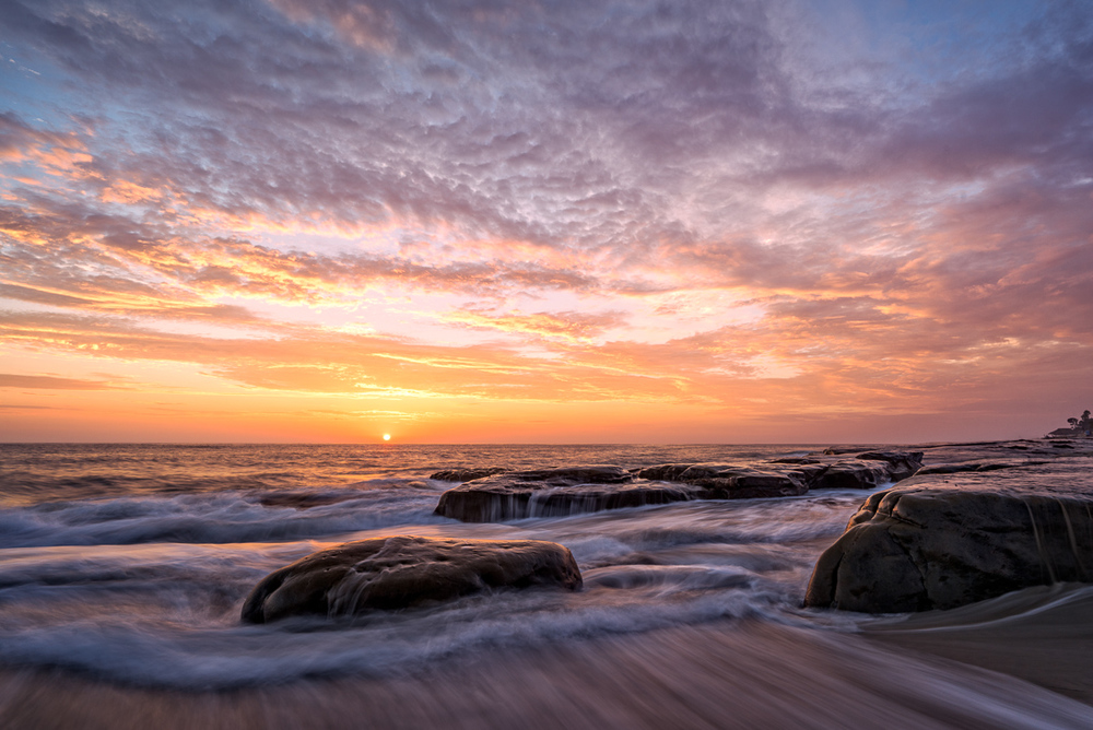 Sunset, La Jolla, California