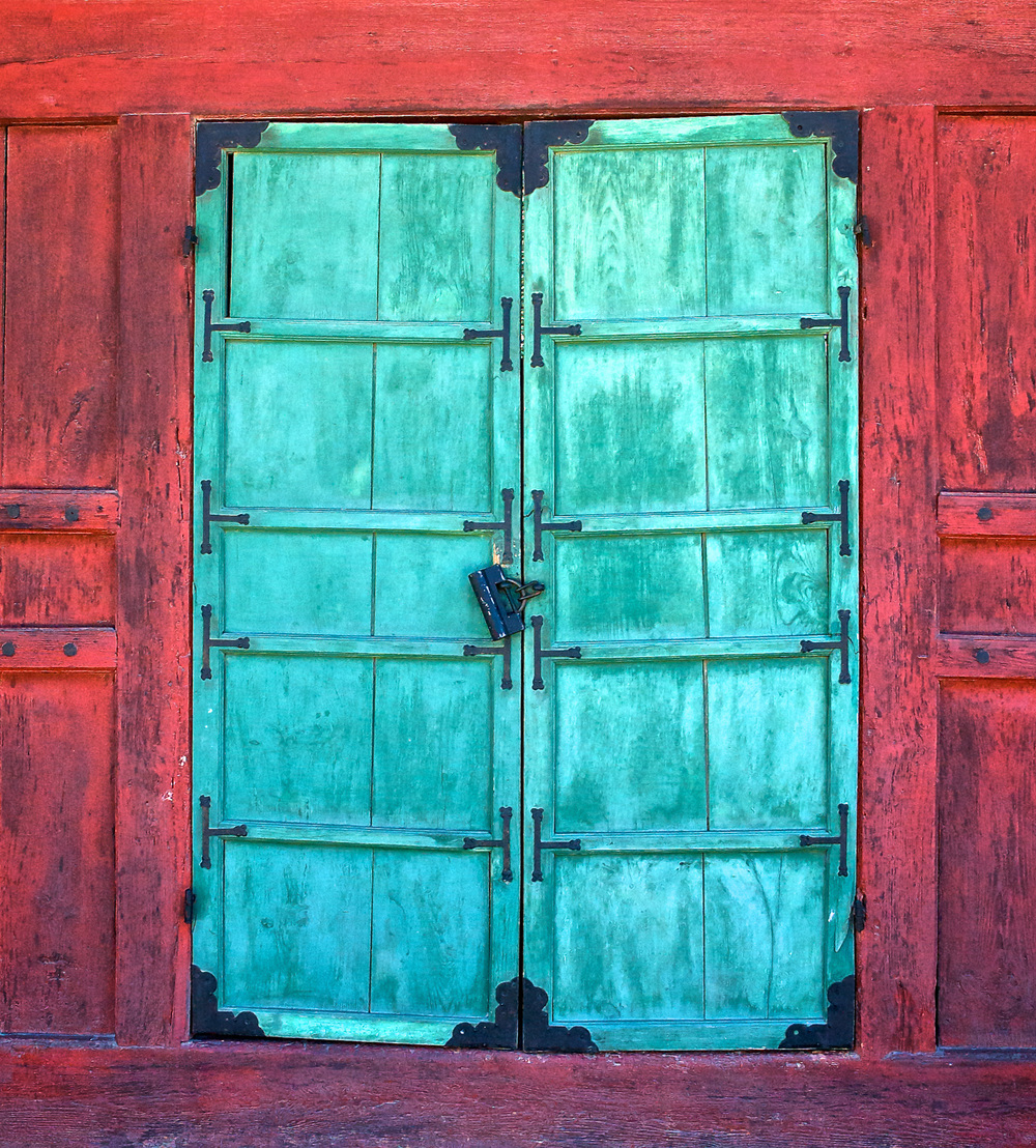 Door at Kyongbokkung Palace